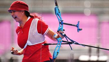 Россиянка Елена Осипова завоевала серебро встрельбе излука наОлимпийских играх вТокио. Фото Reuters