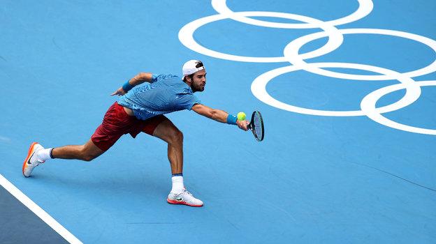 Карен Хачанов. Фото Getty Images