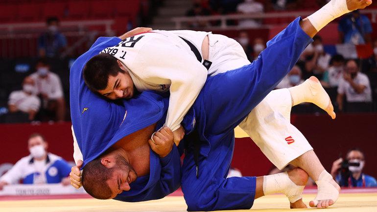 Россиянин Тамерлан Башаев завоевал бронзу Олимпийских игр вТокио. Фото Reuters