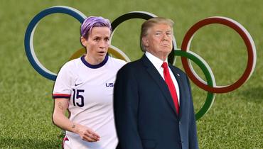 ВСША— новый скандал. Трамп раскритиковал женскую футбольную сборную ипорадовался еепоражению наОлимпиаде