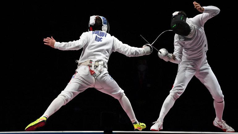 Мужская сборная России пофехтованию проиграла Японии вфинале Олимпийских игр. Фото Reuters