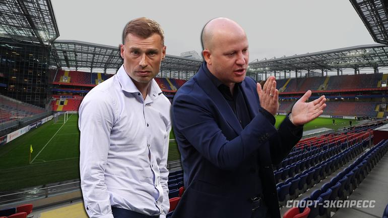 Алексей Березуцкий иМарко Николич. Фото «СЭ»