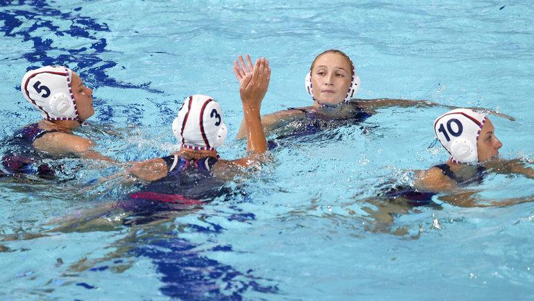 Женская сборная России поводному поло. Фото Getty Images