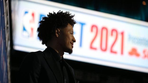 Кейд Каннингем— первый номер драфта НБА-2021. Фото Brad Penner, USA Today Sports