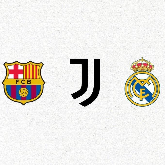 """""""Реал"""", """"Барселона"""" и """"Ювентус"""". Фото ФК """"Ювентус"""""""