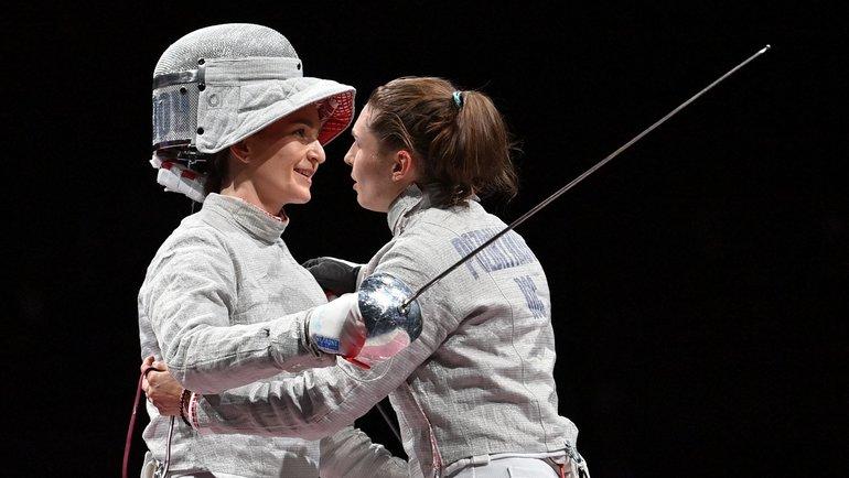 София Позднякова (справа) иСофья Великая. Фото AFP