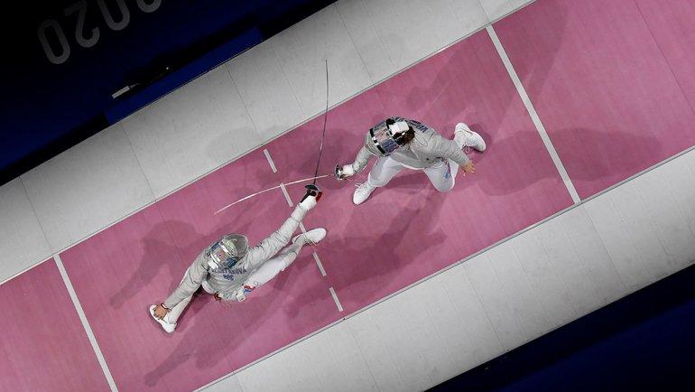 Софья Великая иСофия Позднякова: теперь вместе вкомандном турнире Токио. Фото AFP
