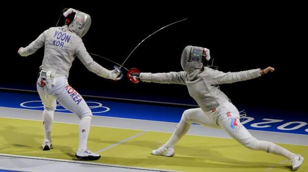 Российские саблистки вышли вфинал Олимпийских игр вкомандном первенстве. Фото Reuters