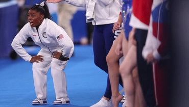 Симона Байлз снялась сОлимпийских игр вТокио.