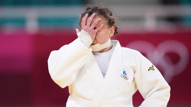 Дария Межецкая расстроена результатом. Фото Global Look Press