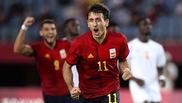 Мужская сборная Испании победила Кот-д`Ивуар вдополнительное время вчетвертьфинале Олимпиады