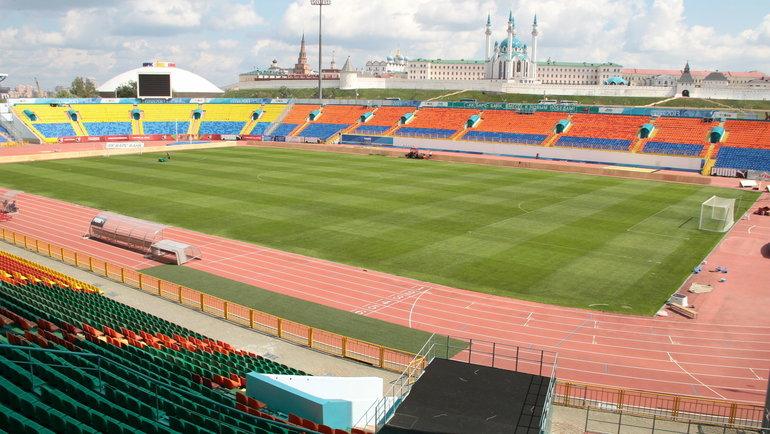 Стадион «Центральный» вКазани. Фото Александр Волгин
