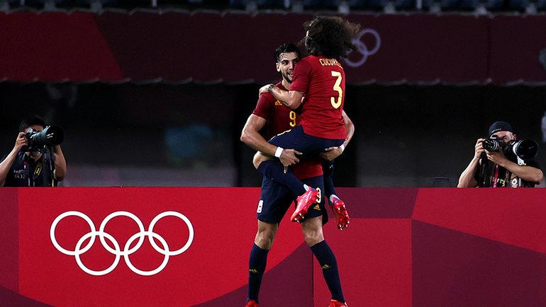 Футболисты сборной Испании. Фото Getty Images