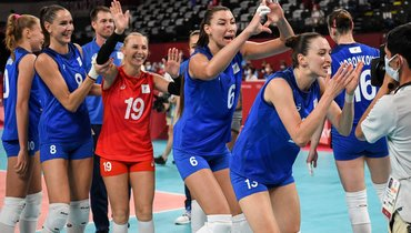 Как России избежать матча сБразилией вчетвертьфинале? Расклады для волейболисток наОлимпиаде