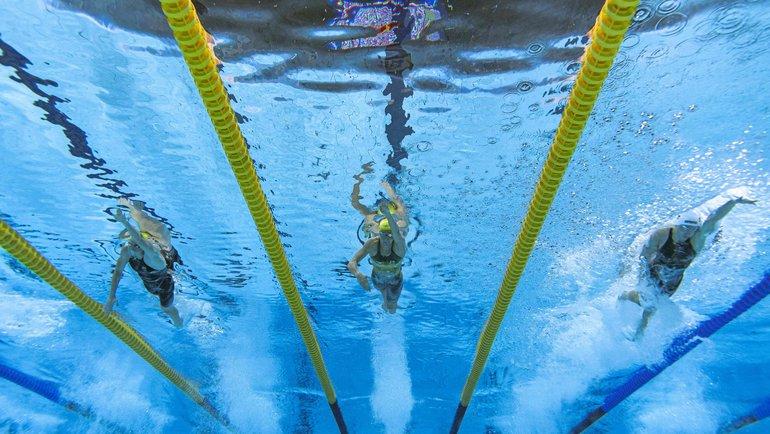 Олимпиада-2020 вТокио: плавание 1августа 2021. Фото AFP