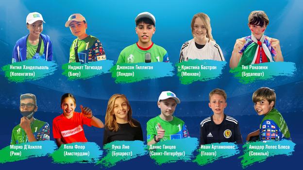 Международное жюри выбрало лучших журналистов детского новостного бюро программы «Футбол для дружбы»