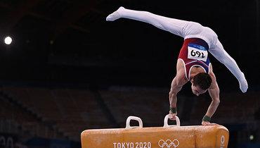 Белявский занял четвертое место вупражнениях наконе наОлимпиаде вТокио