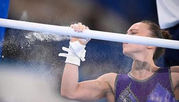 Гимнастка Ильянкова завоевала серебряную медаль набрусьях вфинале Олимпиады