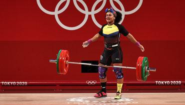 Эквадорская тяжелоатлетка Дахомес выиграла золото Олимпиады вТокио