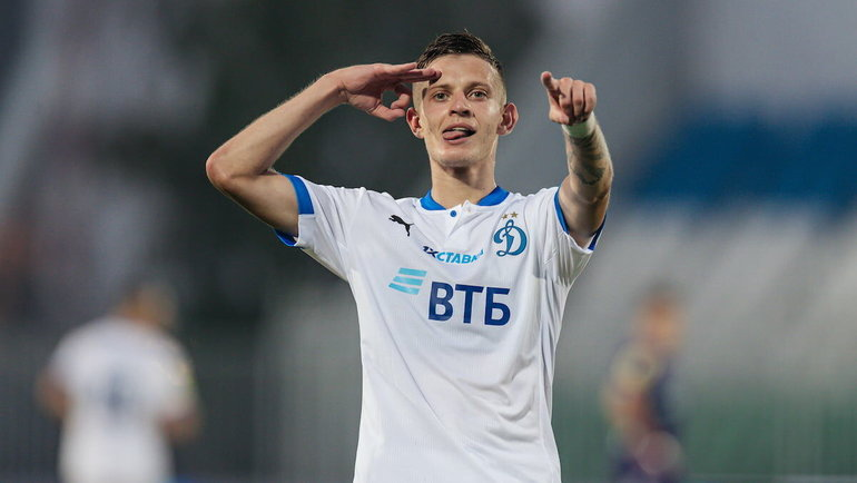 Себастьян Шиманьски. Фото ФК «Динамо».