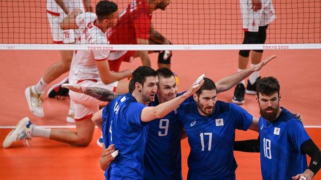Олимпиада 2021, волейбол. Мужчины. Россия— Тунис— 3:0. Обзор матча ирасклады плей-офф