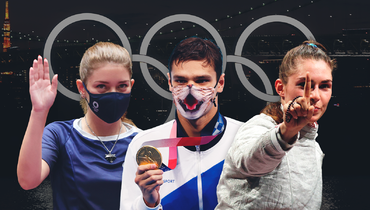 Золотые Рылов иБацарашкина, невероятные фехтовальщицы идругие чемпионы: крутые инеожиданные победы России наОлимпиаде