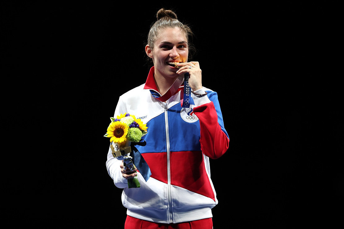 София Позднякова. Фото Getty Images