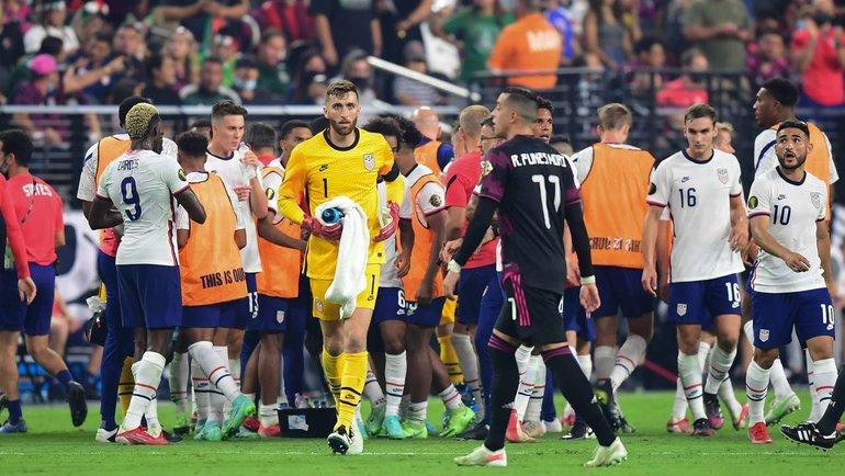 Сборная США победила вЗолотом кубке КОНКАКАФ. Фото AFP