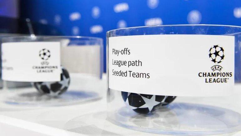 ВНьоне состоялась жеребьевка раунда плей-офф Лиги чемпионов. Фото УЕФА