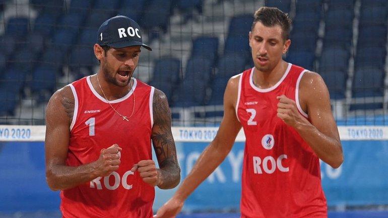 Вячеслав Красильников (слева) иОлег Стояновский. Фото AFP
