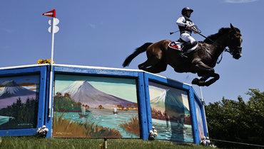 Робин Годель налошади Джет Сет. Фото Reuters