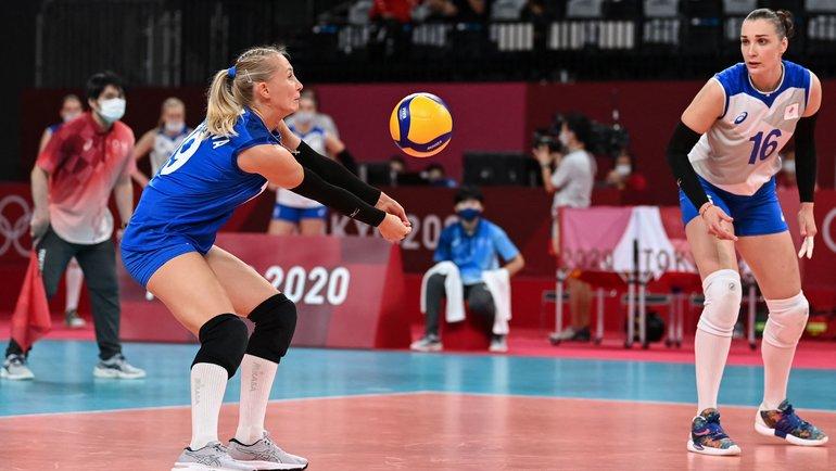 Женская сборная России поволейболу. Фото AFP