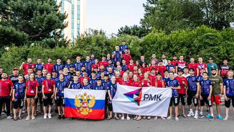 43 медали завоевала сборная России намолодежном чемпионате мира поММА. Фото Пресс-служба Союза ММА России.