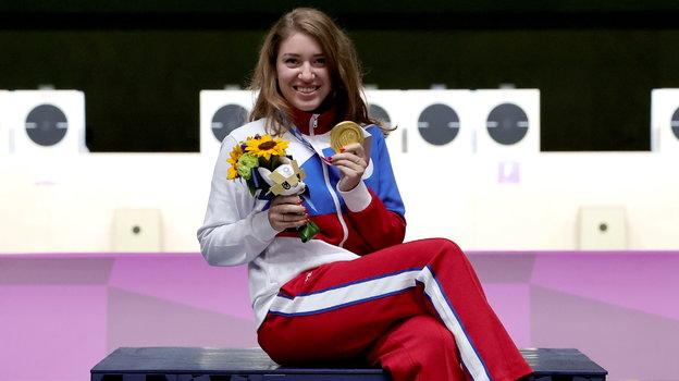 Виталина Бацарашкина— двукратная олимпийская чемпионка Токио-2020. Фото Reuters