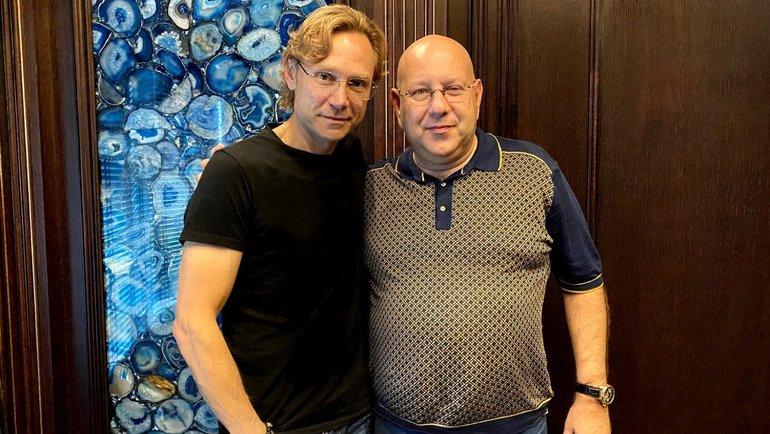 Валерий Карпин и Арташес Арутюнянц. Фото ФК «Ростов»