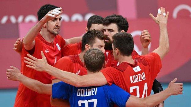 Олимпиада 2021, волейбол мужчины: Канада— Россия— 0:3, обзор матча 1/4 финала Игр вТокио-2020 3августа