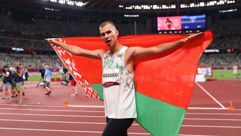 Максим Недосеков (Белоруссия). Фото AFP
