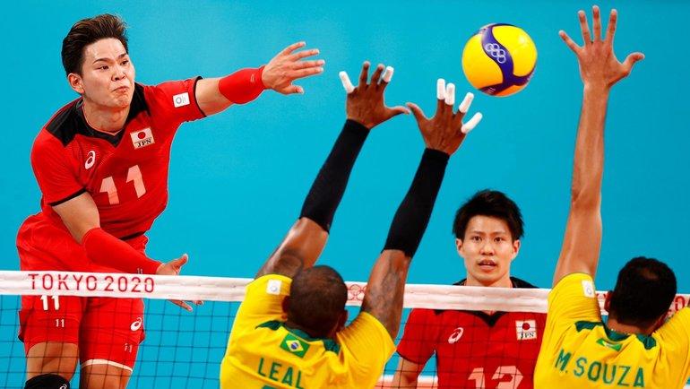 3августа. Токио. 1/4 финала Олимпиады, Япония— Бразилия. Фото Reuters