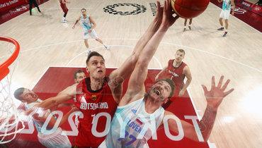 Сборная Словении побаскетболу обыграла Германию ивышла вполуфинал Олимпиады
