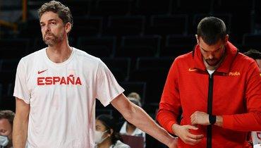 Пау Газоль завершил карьеру всборной Испании после поражения отСША вчетвертьфинале Олимпиады