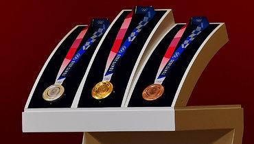 Медали Игр 2020 года вТокио.