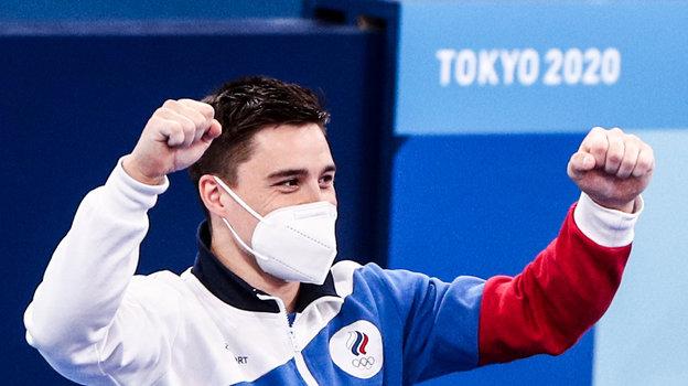 Олимпиада 2021, спортивная гимнастика. Интервью Никиты Нагорного