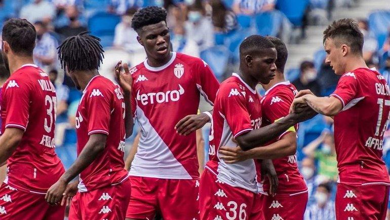 Футболисты «Монако». Фото ФК «Монако»