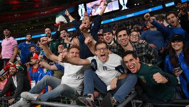 УЕФА открыл дело побеспорядкам нафинале Евро-2020 Италия— Англия