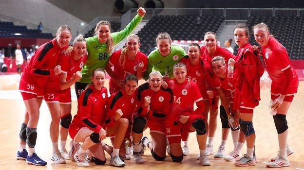 Женская сборная России погандболу. Фото IHF