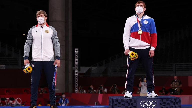 Артур Алексанян и Муса Евлоев. Фото Getty Images
