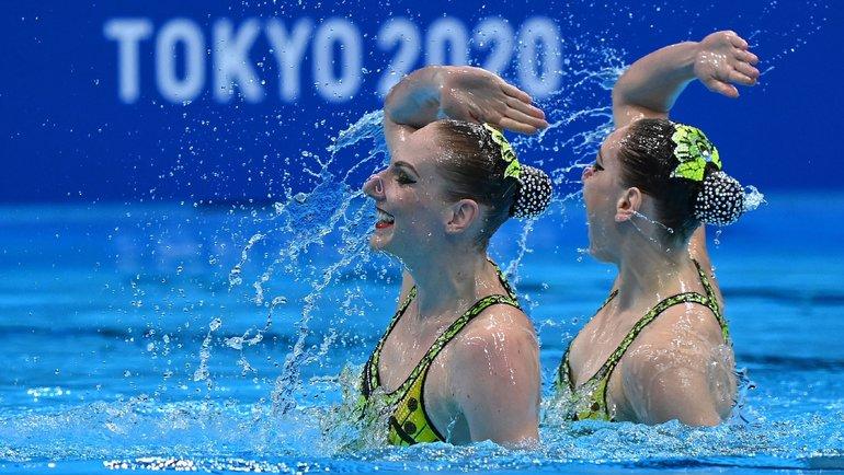 Светлана Ромашина иСветлана Колесниченко. Фото AFP