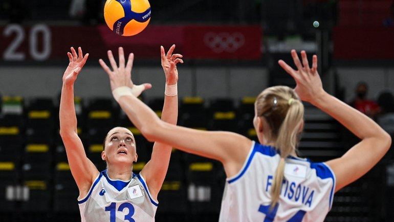 Волейболистки сборной России. Фото AFP