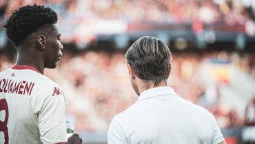 Нико Ковач обинциденте вигре со «Спартой»: «Мывыиграли матч против расизма»
