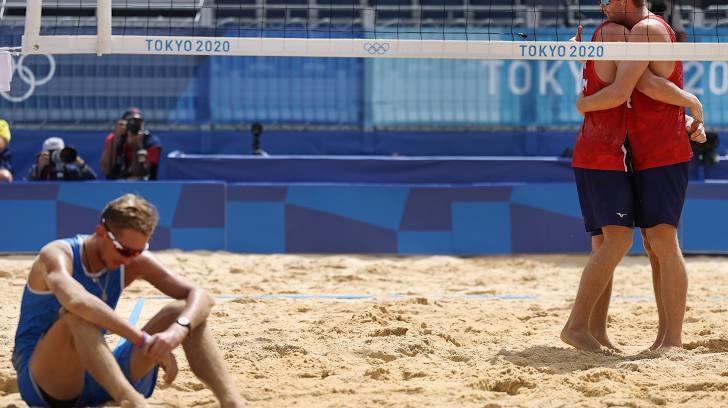 Илья Лешуков иКонстантин Семенов проиграли Норвегии вчетвертьфинале Олимпиады-2020. Фото Reuters